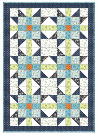 Sister's Choice Quilt Pod, Carnaby Street 36in x 48in