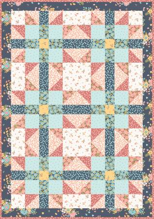 Sister's Choice Quilt Pod Sunlit Blooms, 36in x 48in