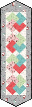 Card Trick Table Runner Pod Happiness is Homeade, 13in x 45in