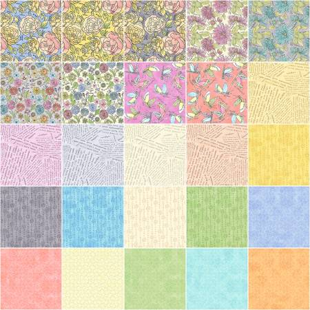 Fat Quarter Potpourri, 25pcs/bundle