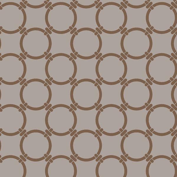 Anelli Cuddle 84834 beige w/brown circles