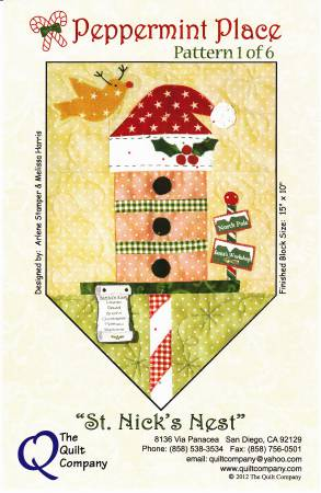 Peppermint Place Block of the Month Complete Set