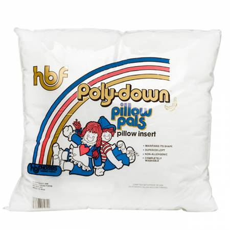 FOR PICKUP ONLY  HBF Poly-down Pillow Insert - 18