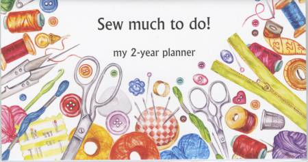 2 Year Pocket Planner Sew Much to Do 2019/2020