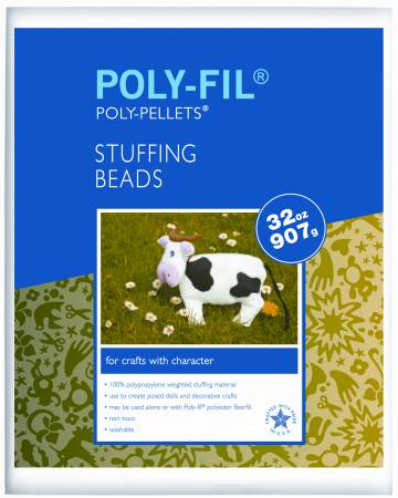 Polypropylene Weighted Stuffing Beads 6pk