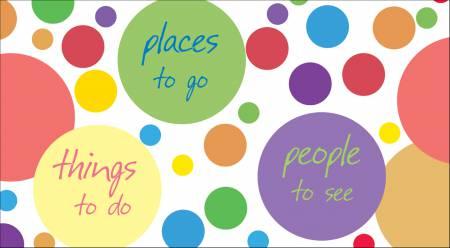 Calendar Circle Places To Go