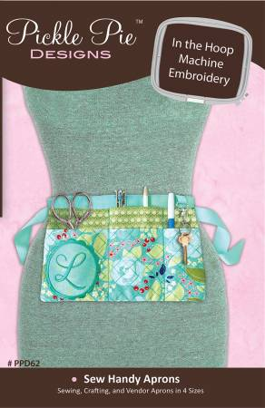 Sew Handy Aprons In The Hoop Machine Embroidery Design CD