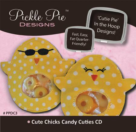 Cute Chicks Candy Cuties Embroidery