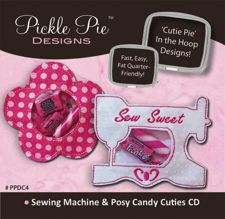 CD Sewing Machine & Posy Embroidery
