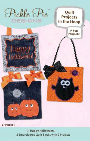 Happy Halloween Quilt Projects In the Hoop Design Collection CD