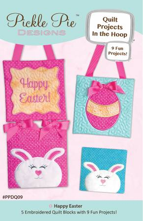 CD Happy Easter Quilt Block Projects