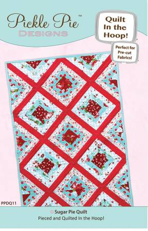 Sugar Pie Quilt In The Hoop Machine Embroidery CD PPDQ11