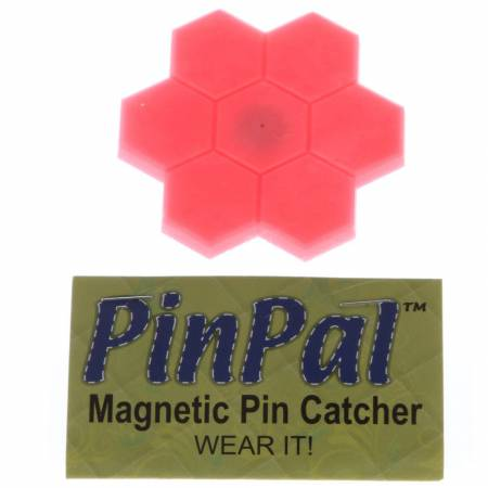 Pin Pal English Flower Garden Hot Pink