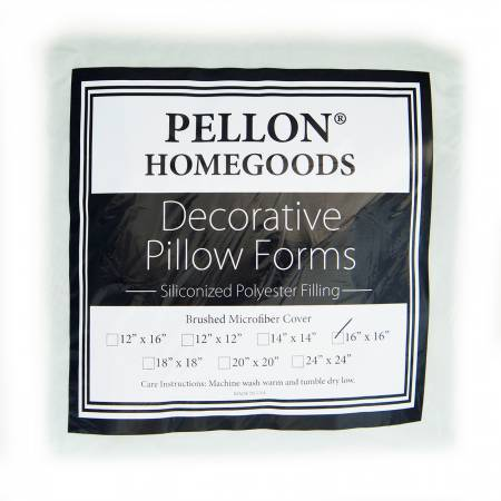Pellon Homegoods Decorative Pillow Insert - 16in x 16in