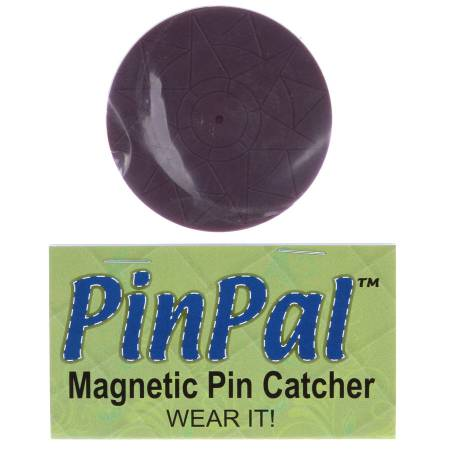 Stitchin' Tree Pin Pal Magnetic Pin Catcher Purple Mariner's Compass