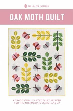 Oak Moth Quilt Pattern