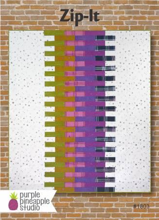 Purple Pineapple Zip-It Pattern