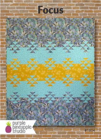Purple Pineapple Focus Pattern