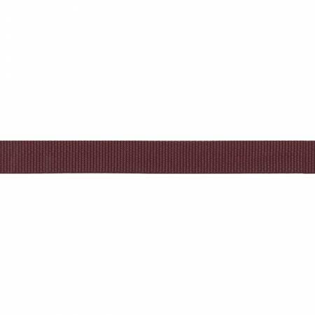 Polypro Webbing 1in x 25yds Burgundy