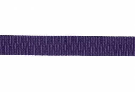 Polypro Webbing 1 - Purple