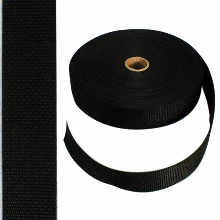 Polypro Webbing 1-1/2in Black