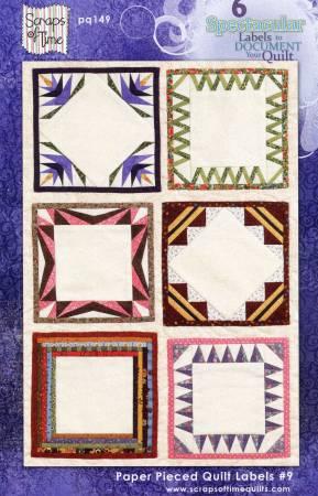 Paper Pieced Quilt Labels 9