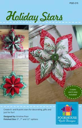 Fold'n Stitch Holiday Stars Pattern