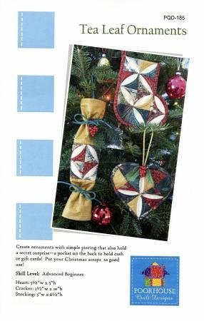 Tea Leaf Ornaments