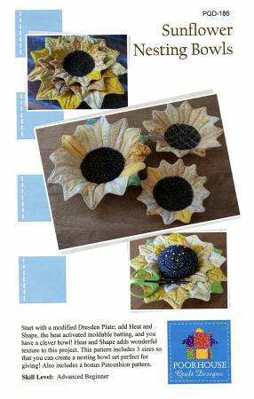 Sunflower Nesting Bowl