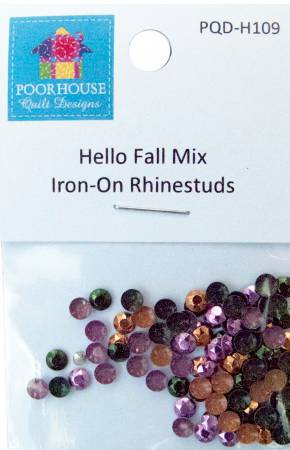 Hello Fall Mix Iron-on Rhinestuds