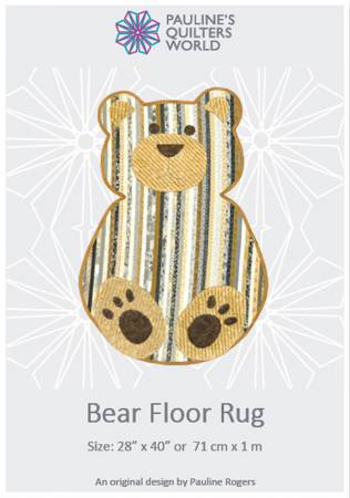 Bear Floor Rug Pattern