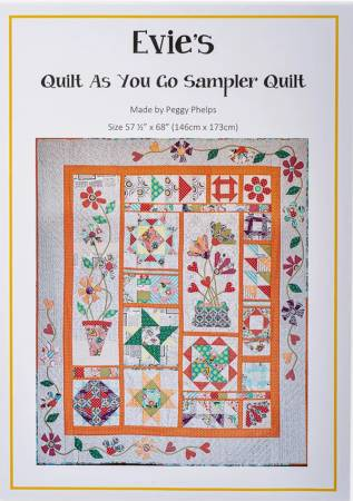 Eveies Quilt As You Go Sampler Quilt