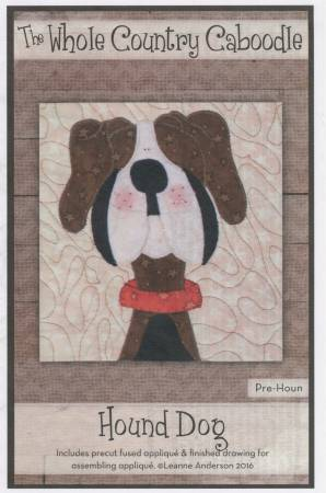 Hound Dog Precut Applique