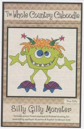 Silly Gilly Monster Pre-cut Fused Applique