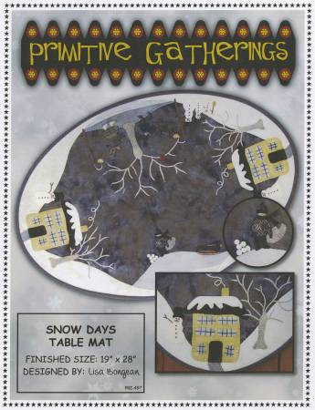 Snow Days Table Mat