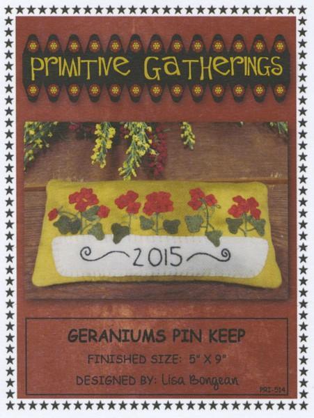 Geraniums Pin Keep