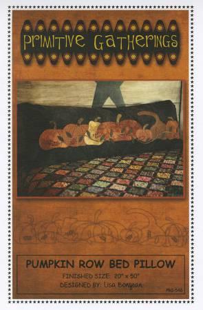 Pumpkin Row Bed Pillow