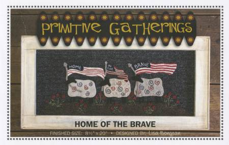 Home Of The Brave Wool Pattern