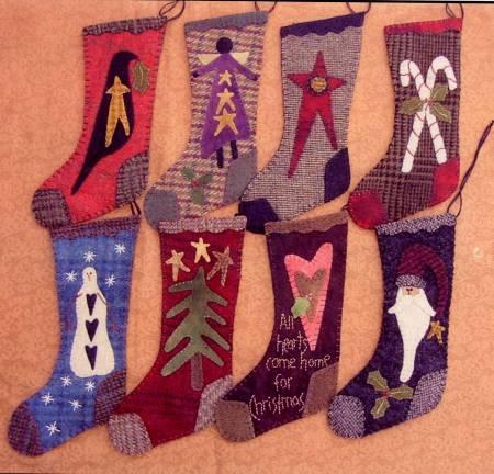 Wool Christmas Stockings