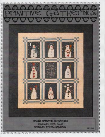 Warm Winter Blessings Quilt Kit