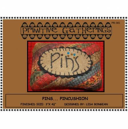 Pins Pincushion Kit
