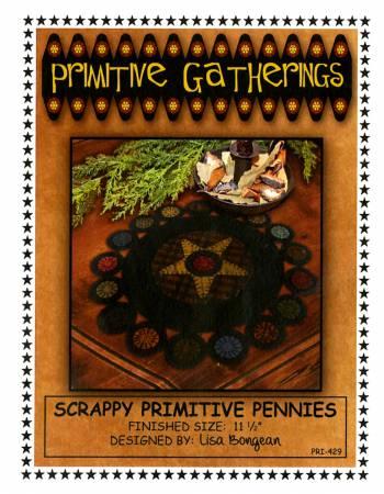 Scrappy Primitive Pennies