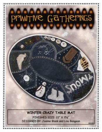 Winter Crazy Table Mat PRI-434