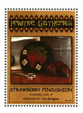 Strawberry Pincushion Pattern