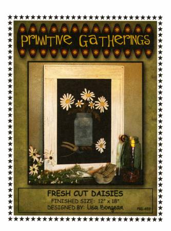 PT W Prim Gatherings Fresh Cut Daisies