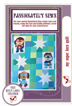 My Super Hero Quilt Pattern