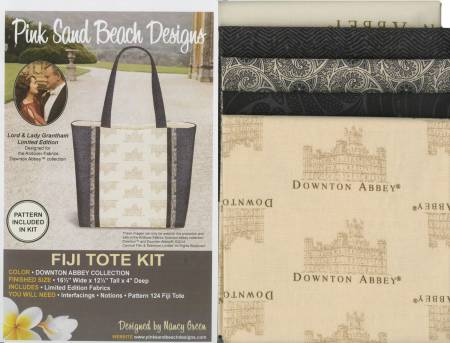 Fiji Tote Downton Abbey Kit/Pattern Pack