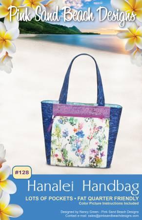 Pink Sand Beach Designs Hanalei Handbag Pattern
