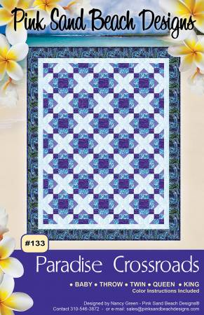 Paradise Crossroads Pattern by Pink Sand Beach Designs
