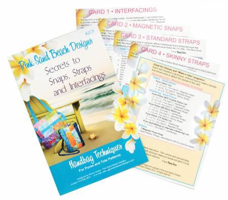Secrets to Snaps, Straps & Interfacing